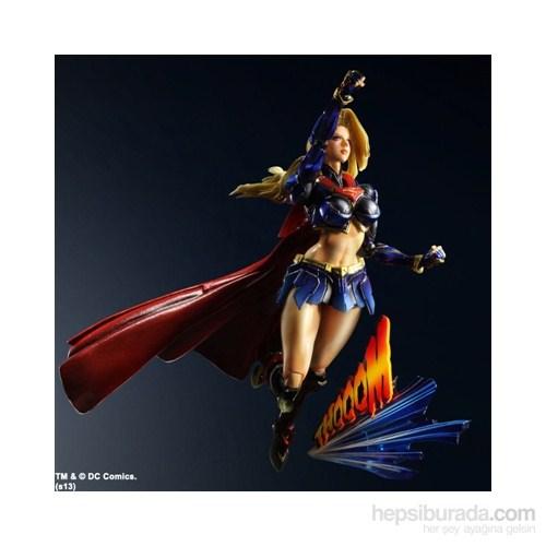 Dc Comics Variant Play Arts Kai Supergirl