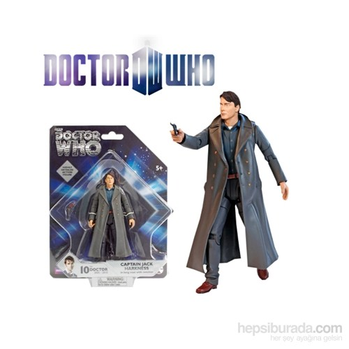 Doctor Who: Captain Jack Harkness Action Figure