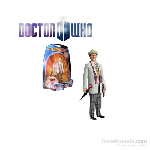 Doctor Who: Time & Rani 7Th Doctor Action Figure