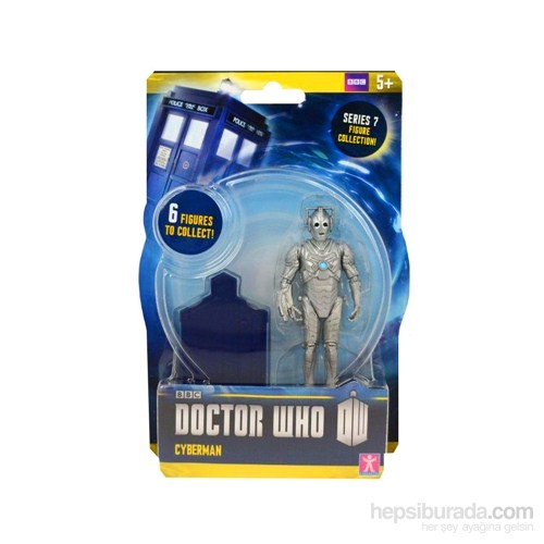 Doctor Who: Cyberman 3.75 İnch Action Figure