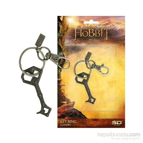 The Hobbit Thorin Erebor Key Snap Keychain Anahtarlık