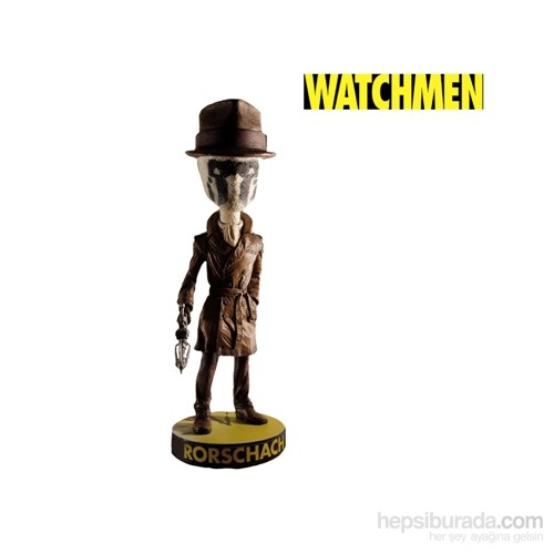 Watchmen Rorschach Head Knocker