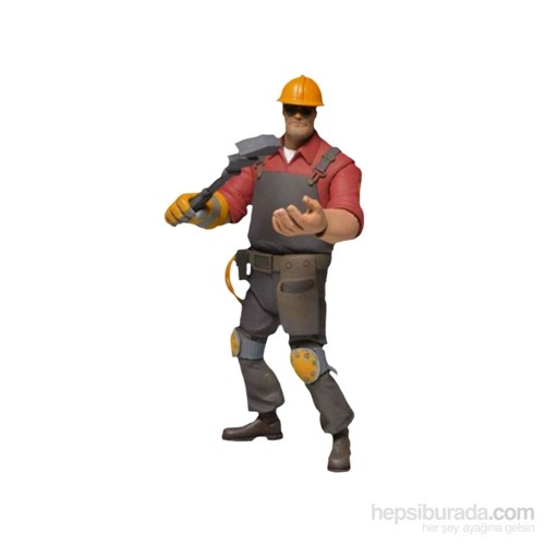 Team Fortress Series 3 Red Engineer Figür