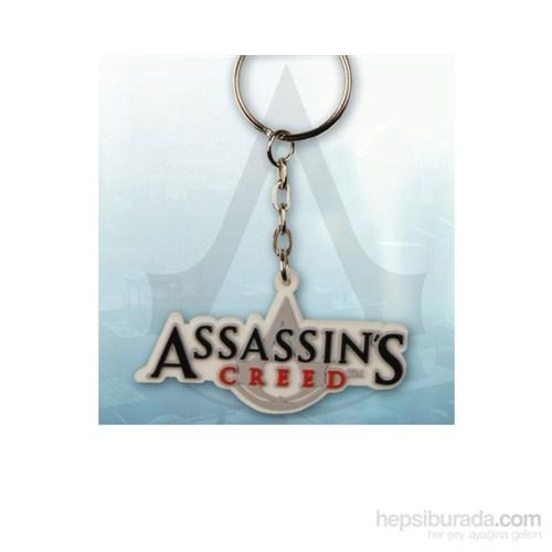 Assassin's Creed Logo Rubber Keychain Anahtarlık