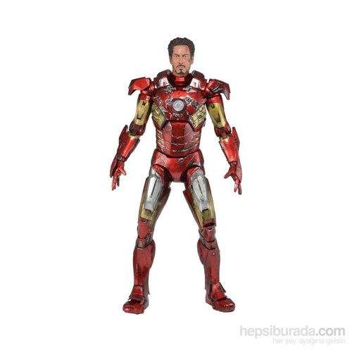 The Avengers Savaş Hasarlı 1/4 Iron Man Mark Vıı 46 Cm
