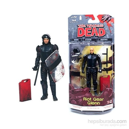 The Walking Dead: Glenn Figür Comic Series 2