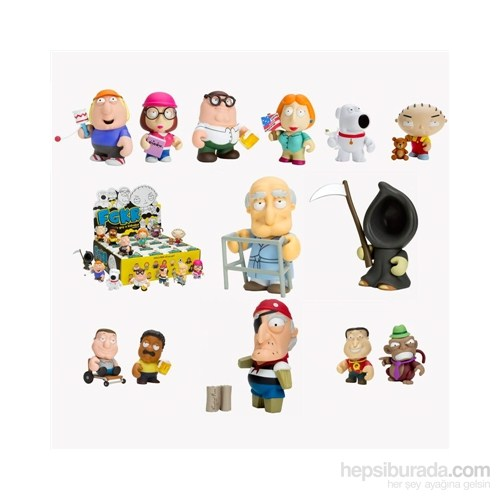 Family Guy Mini Koleksiyon Figürleri