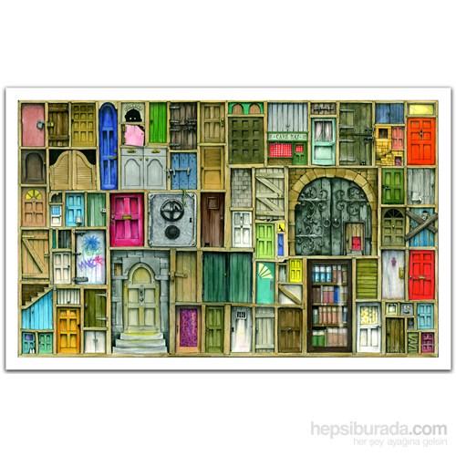 Pintoo Kapalı Kapılar - 1000 Parça Puzzle