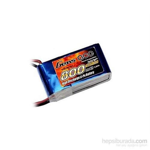 Gens Ace 800Mah 11.1V 40C 3S Lipo Batarya