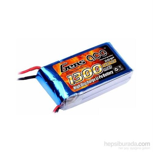 Gens Ace 1300Mah 7.4V 25C 2S1p Lipo Batarya