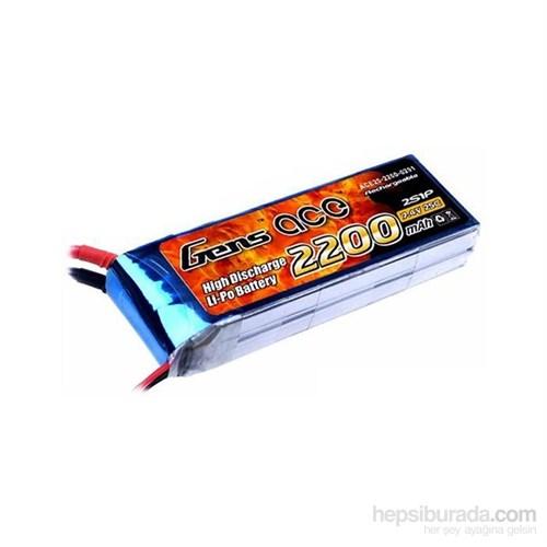 Gens Ace 2200Mah 7.4V 25C 2S1p Lipo Batarya