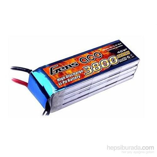 Gens Ace 3800Mah 14.8V 25C 4S1p Lipo Batarya