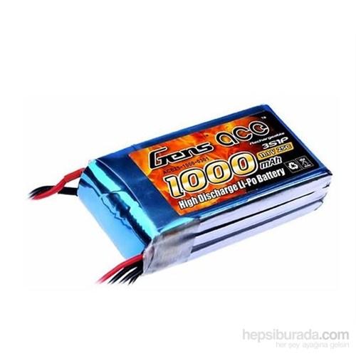 Gens Ace 1000Mah 11.1V 25C 3S1p Lipo Batarya