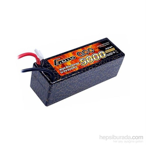 Gens Ace 5000Mah 14.8V 40C 4S1p Lipo Batarya