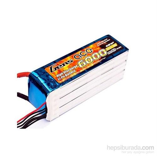 Gens Ace 6000Mah 22.2V 35C 6S1p Lipo Batarya