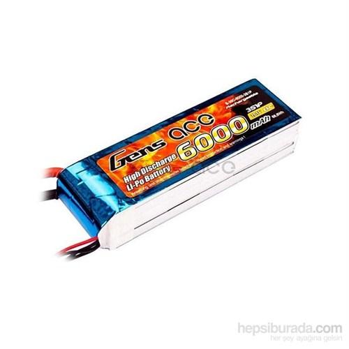 Gens Ace 6000Mah 11.1V 25C 3S1p Lipo Batarya