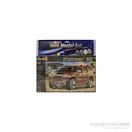 Hummer H2 (1:25 Ölçek)