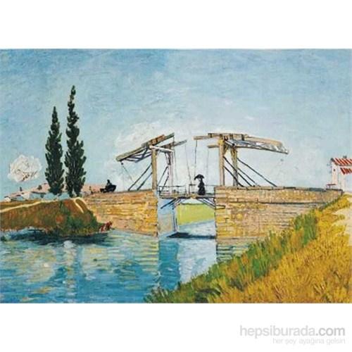 Le Pont De Langlois, Van Gogh (1000 Parça)