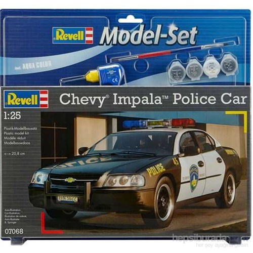 M.Set Chevy Impala Pol. (1/25 Ölçek)