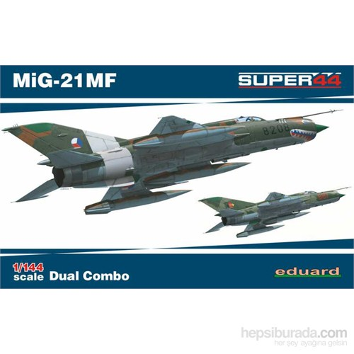 Mig-21Mf Dual Combo (1/44 Ölçek)