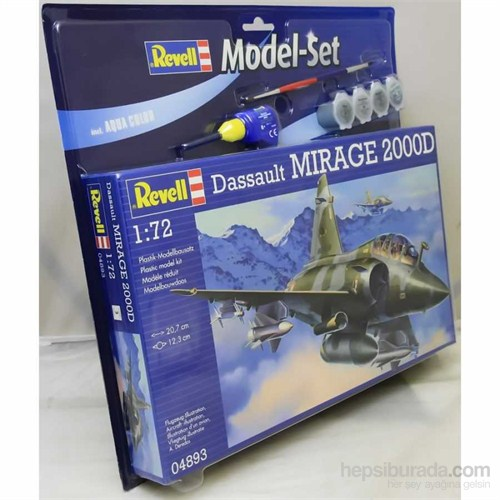 Model Set- Mirage 2000 1/72