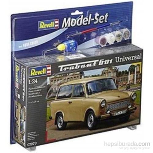 Model Set -Trabant 601 1/24
