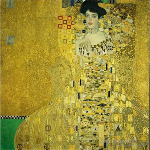 Mrs.Adele Bloch Bauer, Klimt (1000 Parça)
