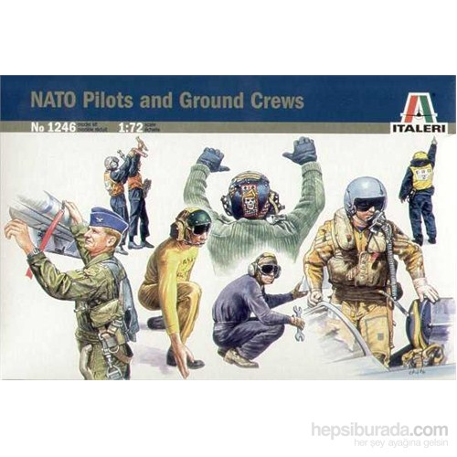 Nato Pilots And Ground Crews ( 1/72 )