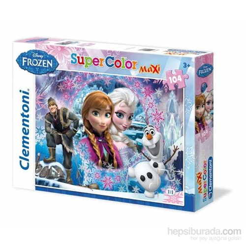 Queen Of The North Frozen (104 Parça, Maxi Puzzle)