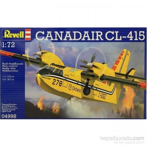 Revell Planes 04998 Canadaır Cl-415