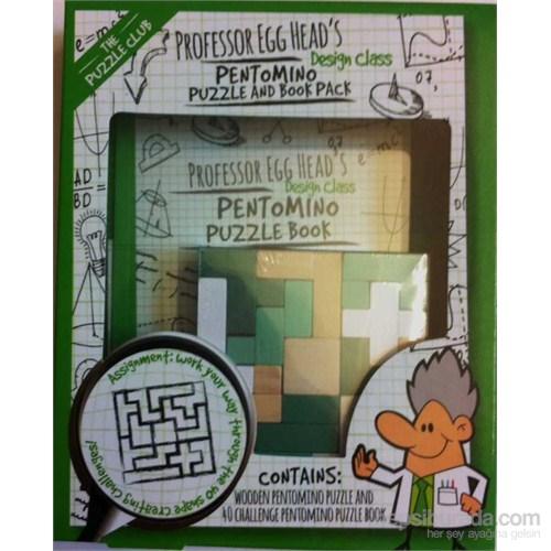 Wooden Pentomıno Puzzle Book