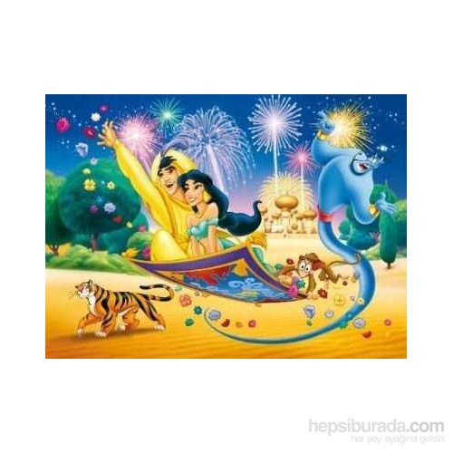 Aladdin And Jasmine: Flying Carpet (60 Parça)