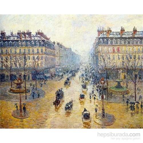 Avenue De L'opéra A Paris, Pissarro (1500 Parça Puzzle)
