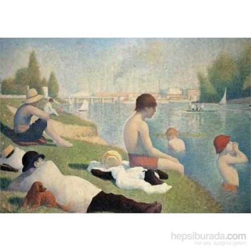Bagno Ad Asnieres, 1884, Seurat (1500 Parça Puzzle)