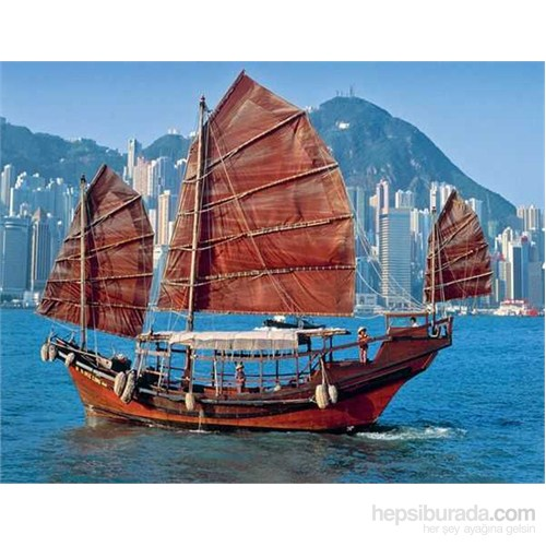 Chinese Sailboat (500 Parça Puzzle)