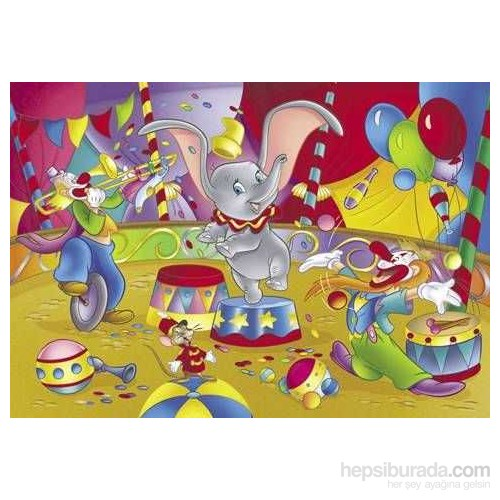 Dumbo Süpermaxi Puzzle (12 Parça)