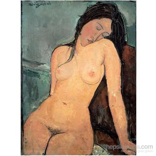 Female Nude, Amedeo Modigliani (1500 Parça Puzzle)