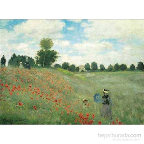 Les Coquelicots, Monet (2000 Parça Puzzle)