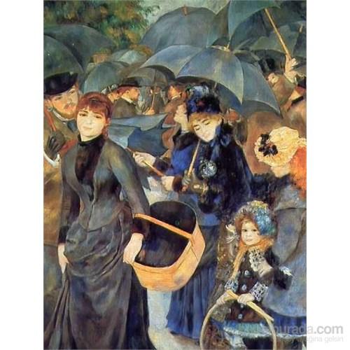 Les Parapluies, Renoir (1500 Parça Puzzle)