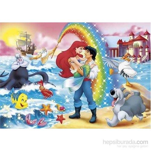 Little Mermaid: Rainbow (24 Parça, Maxi)