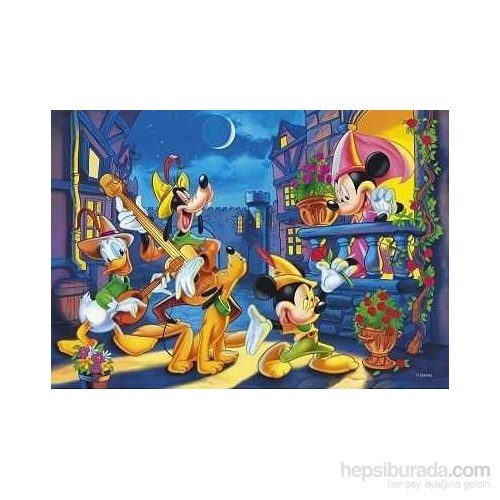 Magic Light, Mickey And His Friends (250 Parça