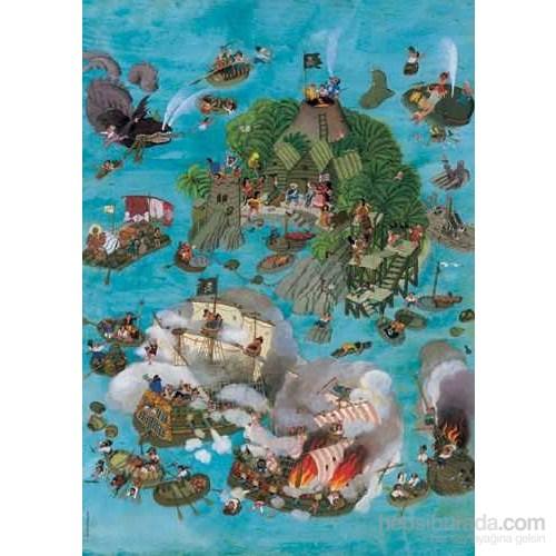 Pirates, Ali Mitgutsch (700 Parça Puzzle)