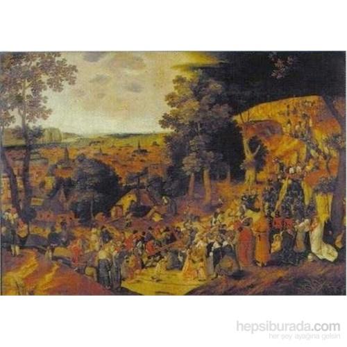 The Golgota, Peter Bruegel (1500 Parça Puzzle)