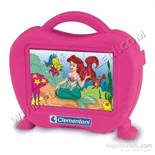 The Little Mermaid (6 Parça, Çantalı Küp Puzzle)