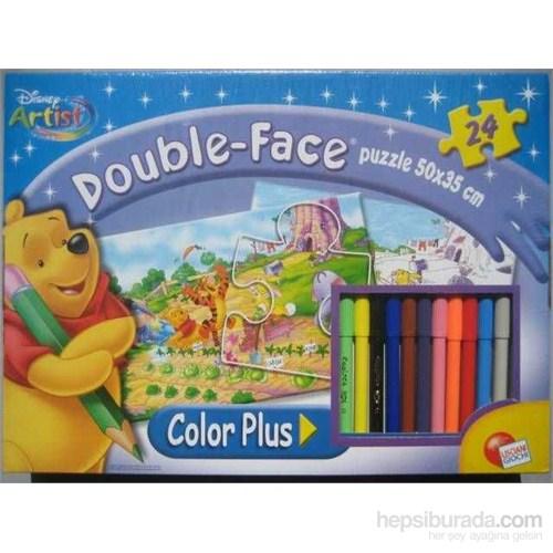 Winnie The Pooh (24 Parça, Çift Taraflı Yapboz)