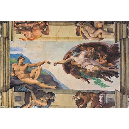 Clementoni Puzzle The Creation of Man, Michelangelo (1000 Parça)
