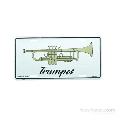 Trompet Metal Plaka