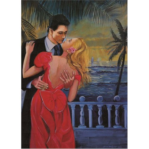 Art Puzzle Sunset Lovers (500 Parça)