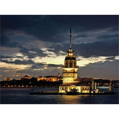 Art Puzzle Kız Kulesi, İstanbul (1000 Parça)