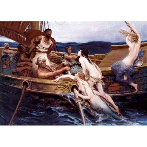 Art Puzzle Odiso ve Sirenler (2000 Parça)